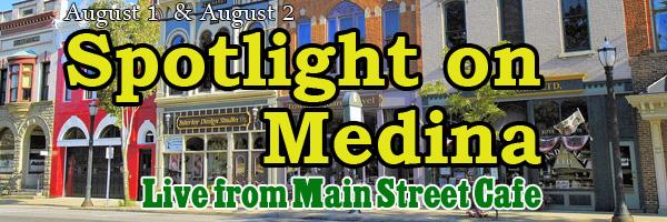 2016 Spotlight on Medina banner