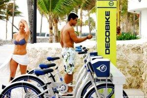 Bicycle rentals concierge services