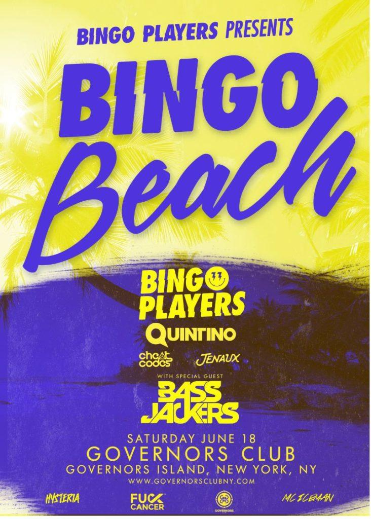 We Own The Nite NYC_Bingo Beach NYC 2016