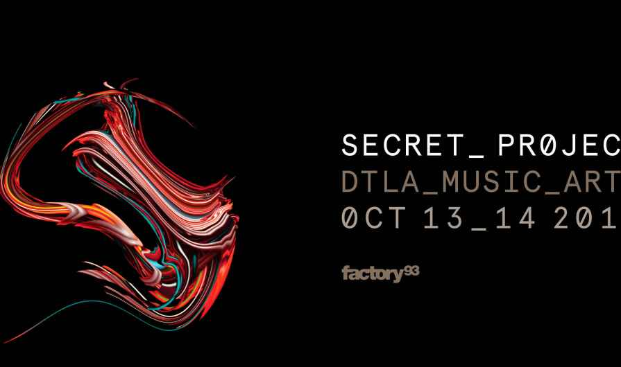 Get hyped for Secret Project LA with our playlist
