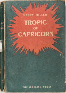 Tropic of Capricorn by Henry Miller (1952)