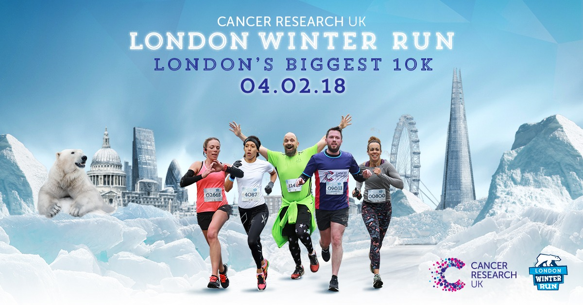WePlay Case Study, Cancer Research UK London Winter Run