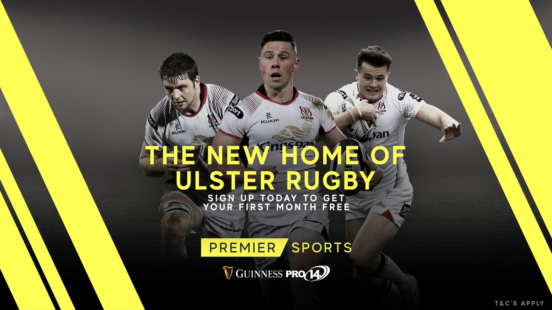 Premier Sports/PRO14 - Ulster