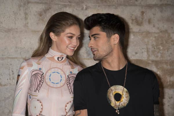 Gigi Hadid shares the most romantic photo with Zayn Malik, the father of the baby who is waiting