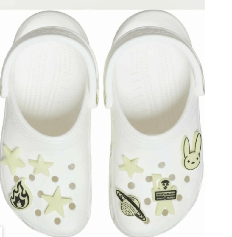 Bad Bunny launches collaboration with Crocs that glows in the dark (+ photos)