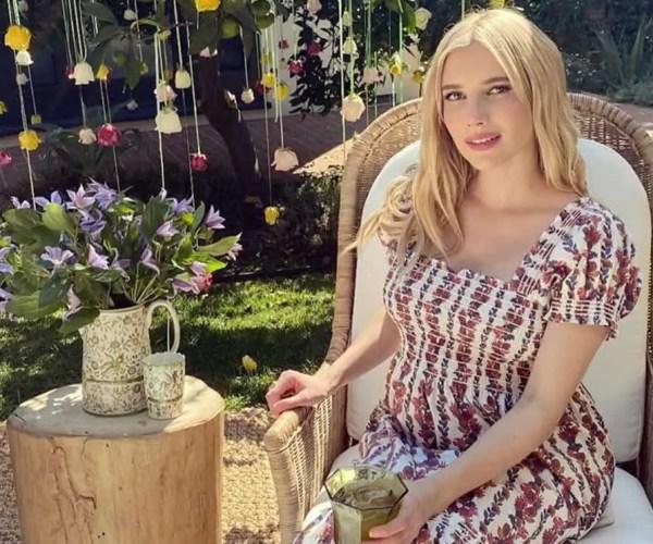 "EMMA ROBERTS' ""Magical Garden"" BABY SHOWER : PHOTOS"
