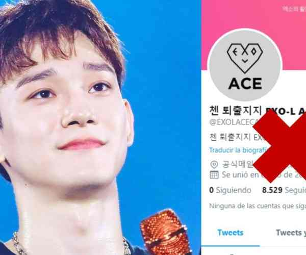 Twitter suspends EXO-L ACE CAFE, Chen's anti-fan account
