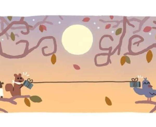 Google celebrates Thanksgiving 2020 with a Google Doodle