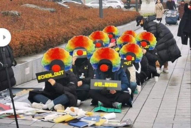 The best memes left by the unsuccessful protest that sought to expel Chen from EXO.