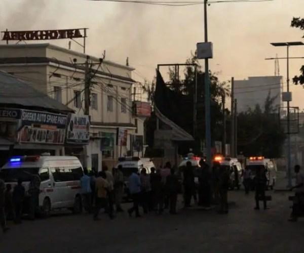 Jihadists Attack Hotel In Somalia capital