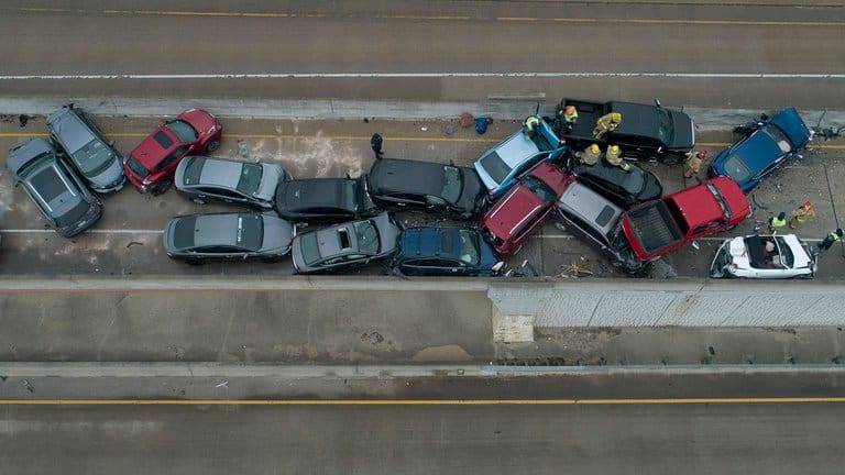 At Least 5 Killed In More Than 100 Car Crash In Texas