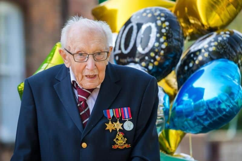 Captain Tom Moore Dies At 100