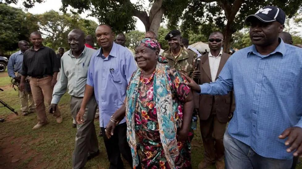 Obama's Kenyan Grandmother Mama Sarah Dies Aged 99