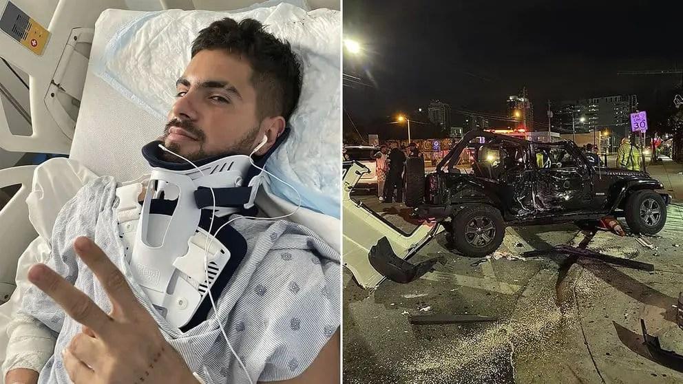 Rombai: Fer Vázquez Showed The Images Of His Accident