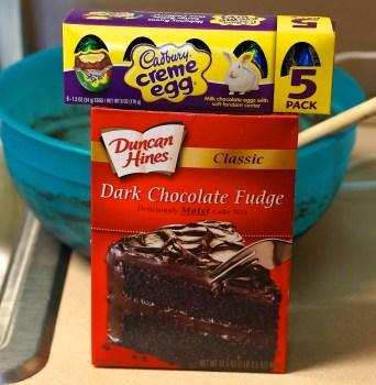 cadbury creme cupcake ingredients