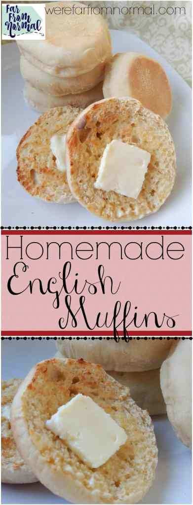 If you've never made English muffins at home you are missing out! They are easier than you think and so much better than store bought!