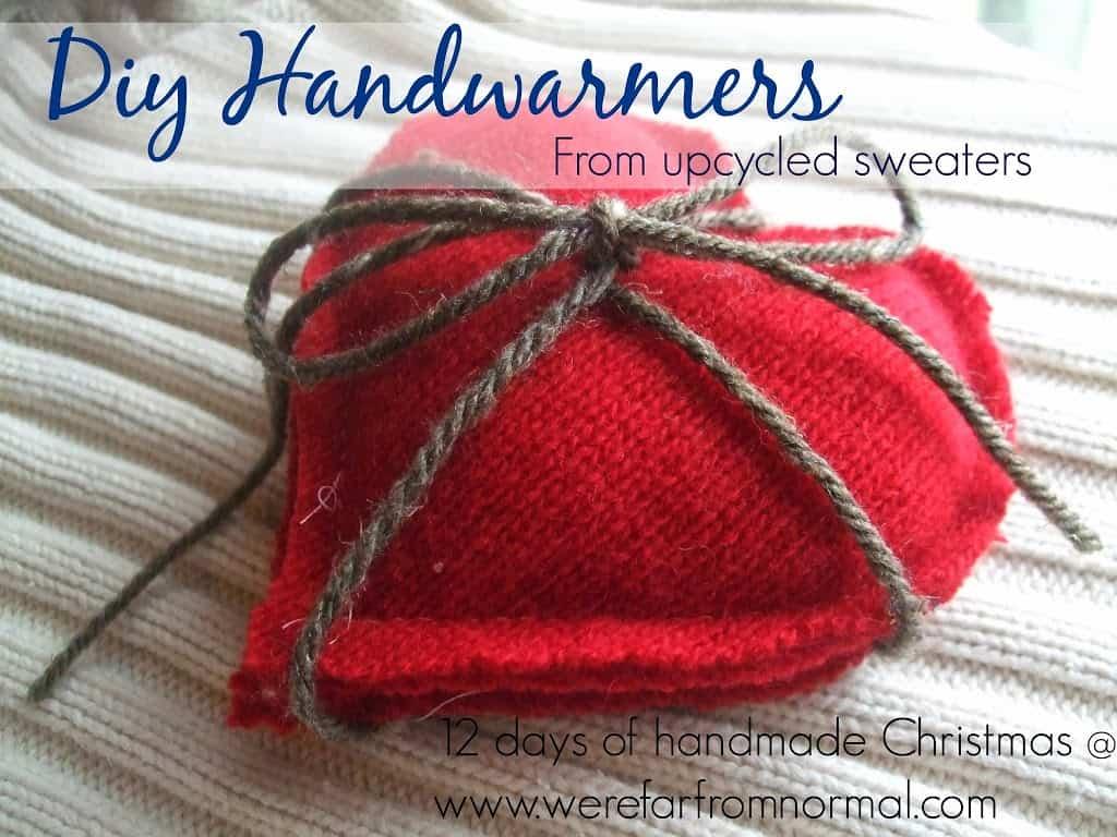 DIY Handwarmers –12 Days of Handmade Christmas