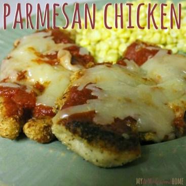 Parmesan Chicken title