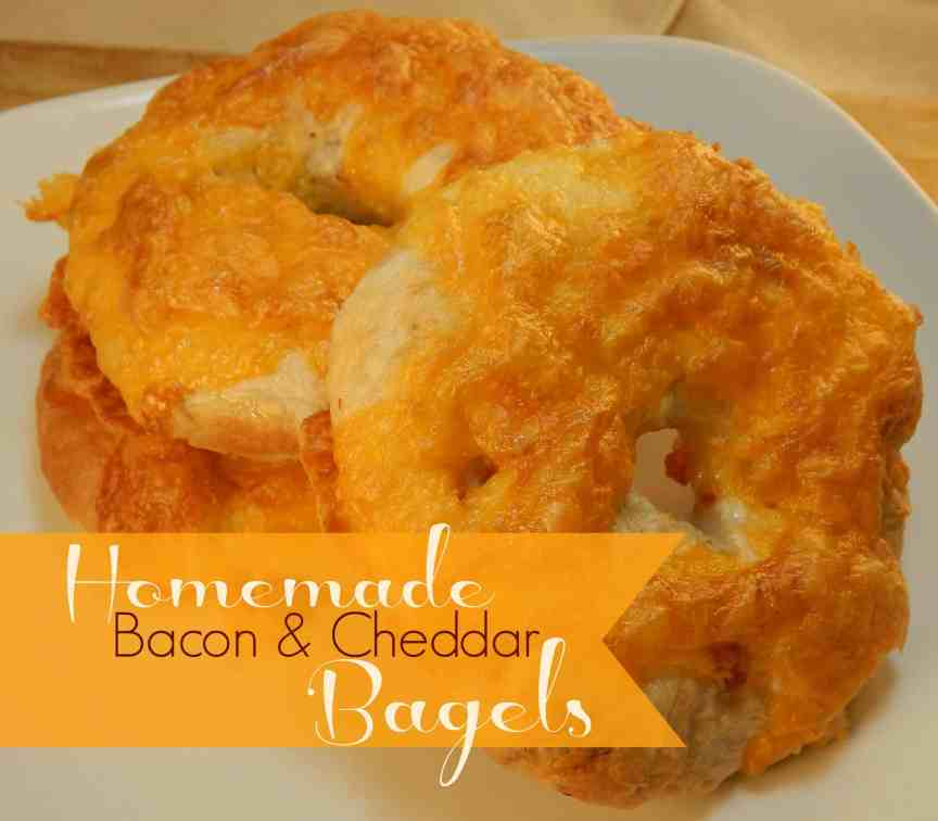 Bacon Cheddar Bagles