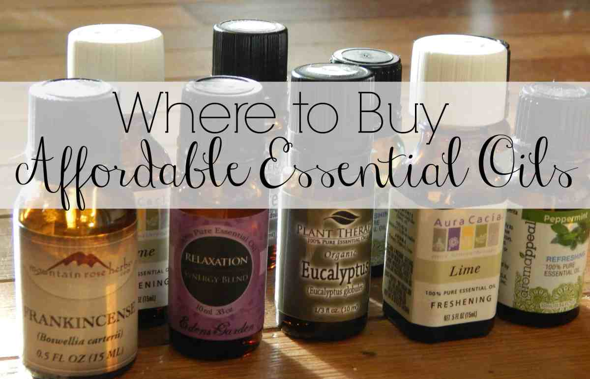 Where to Buy Affordable Essential Oils