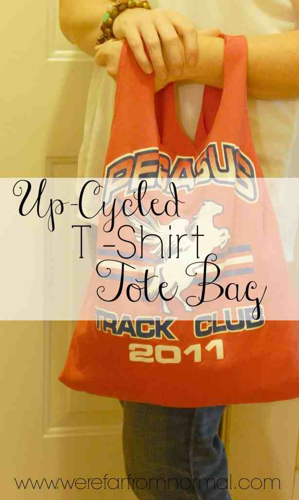 Up-Cycled T-Shirt Tote Bag
