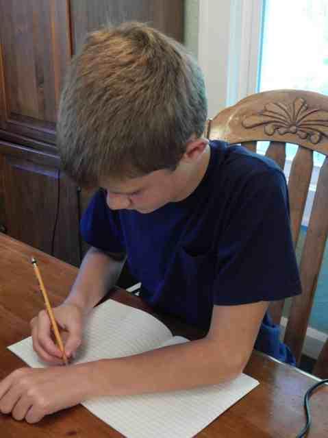 Nathan Writing