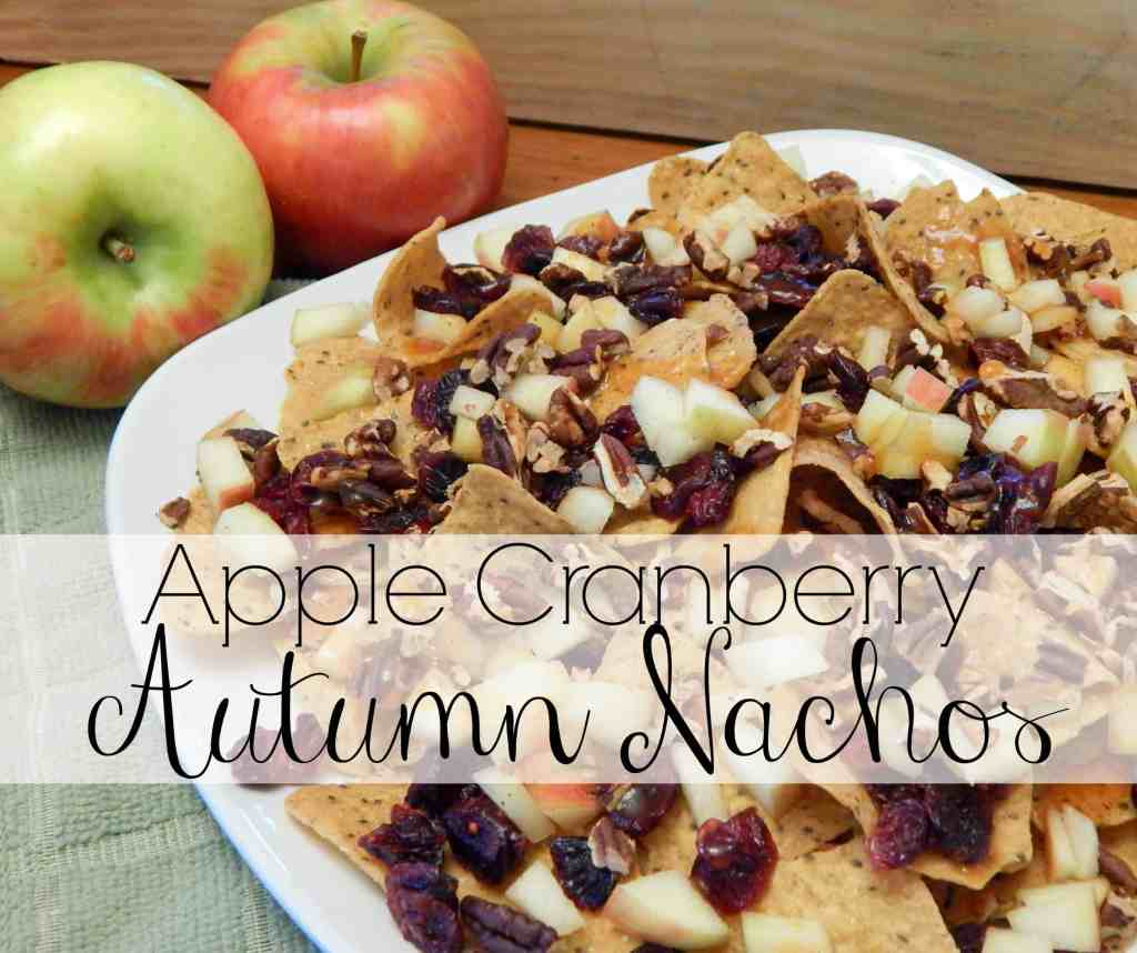 Apple Cranberry Autumn Nachos