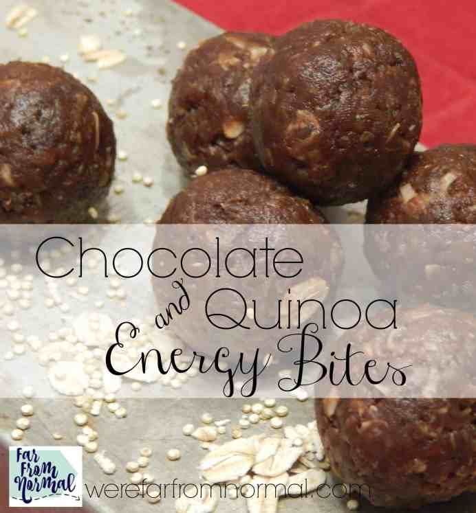 Are you looking for a delicious snack that is packed with nutrition but tastes like a treat These are perfect! Made with quinoa with just enough sweetness to satisify your cravings!