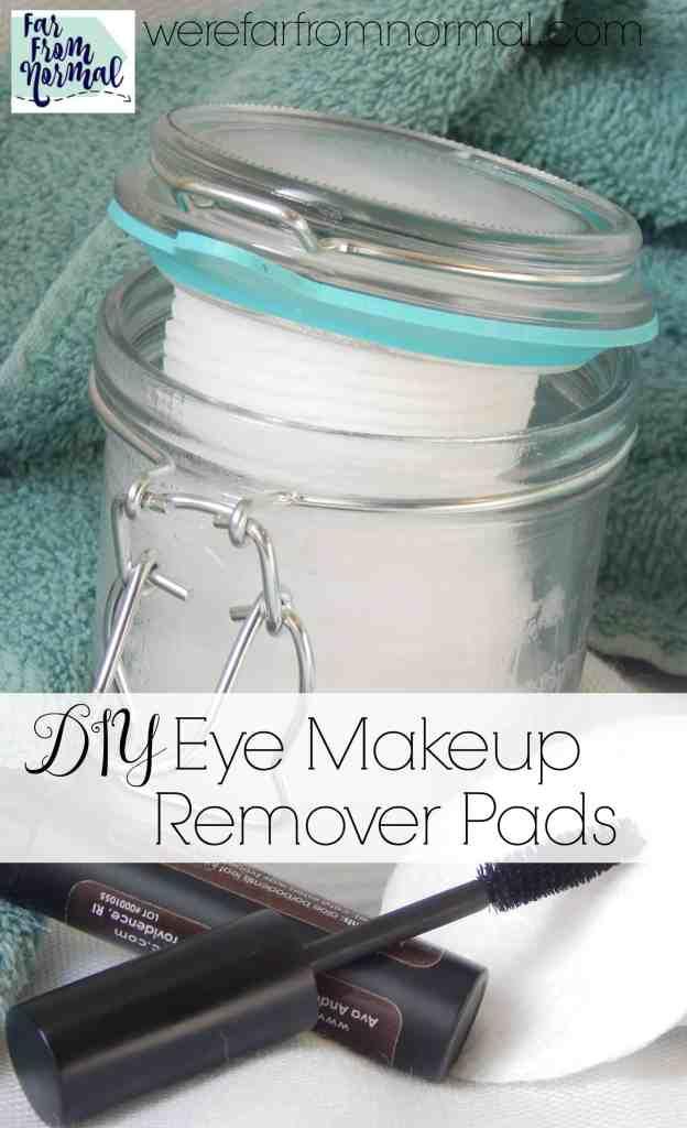 DIY Eye Makeup Remover Pads