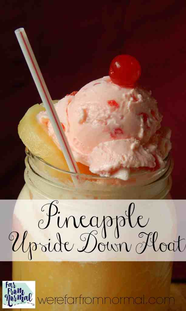 Pineapple Upside Down Float