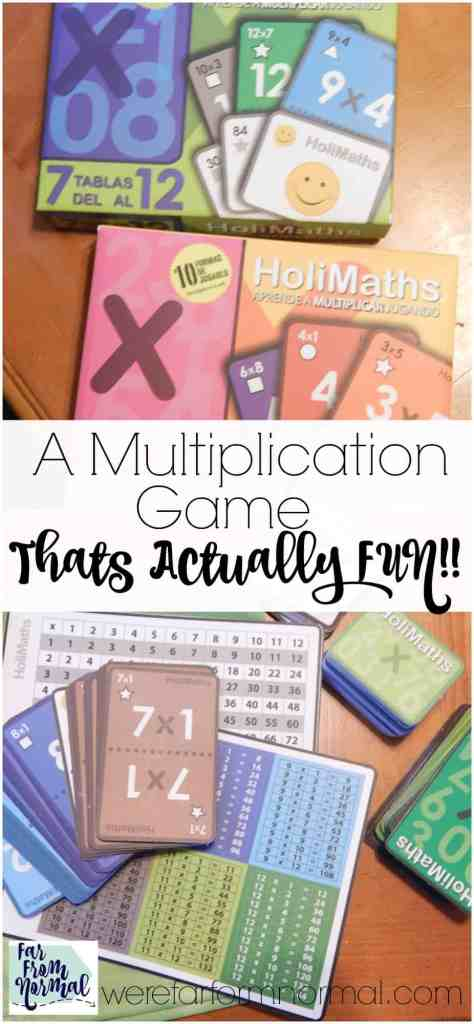 A Multiplication Game That is Actually FUN!!