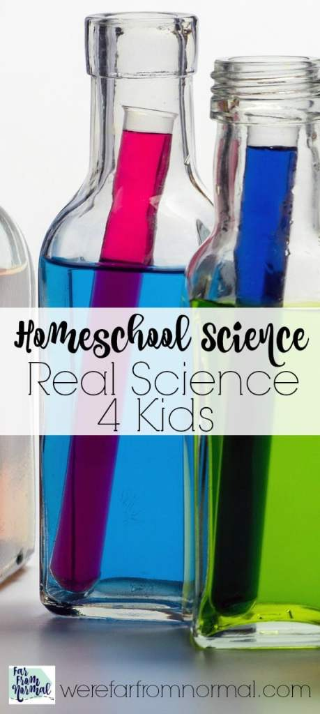 "Why We Love ""Real Science 4 Kids"""