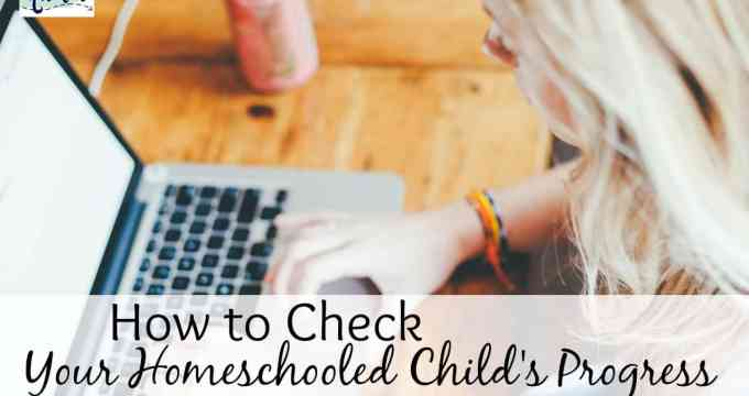 How to Check your Homeschool Child's Progress