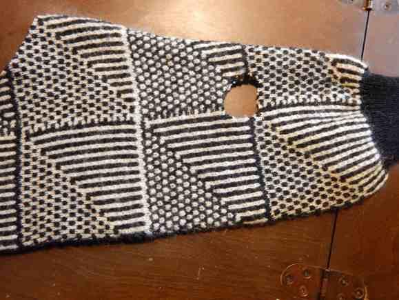 sweater sleeve dog vest