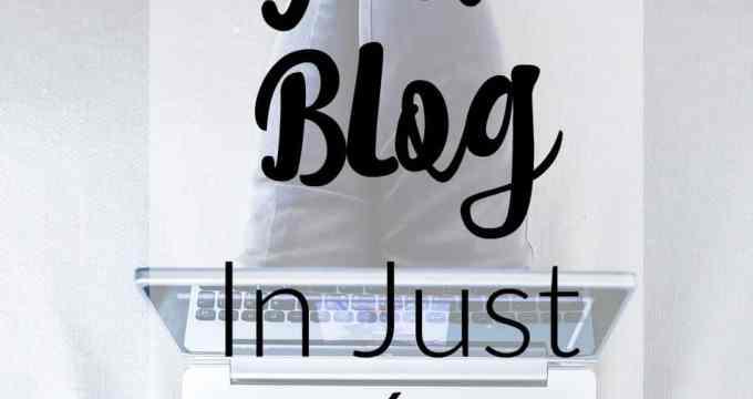 Start Your Blog in 6 Easy Steps!