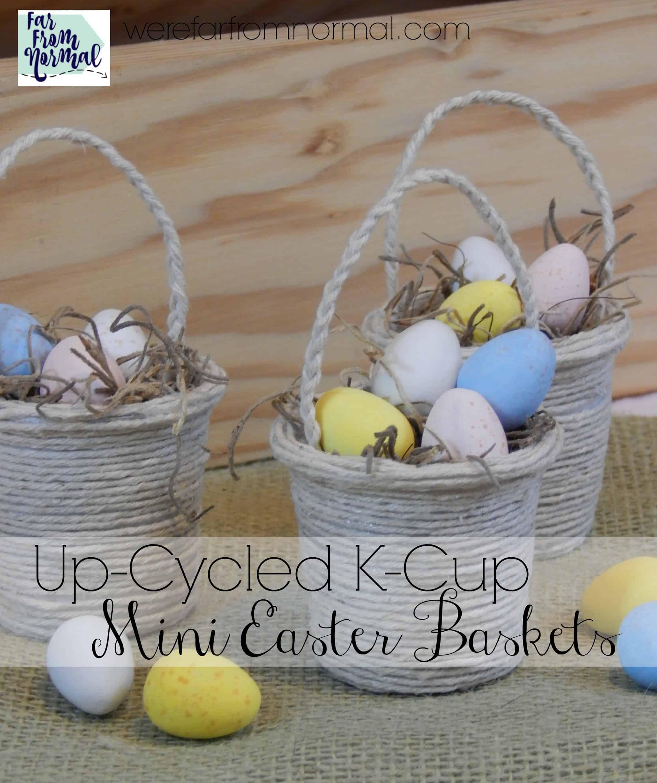 Crafty Ways To Make Easter Baskets