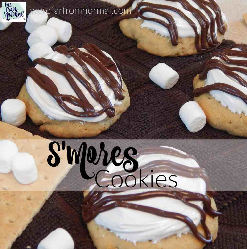 Gooey & Delicious S'Mores Cookies