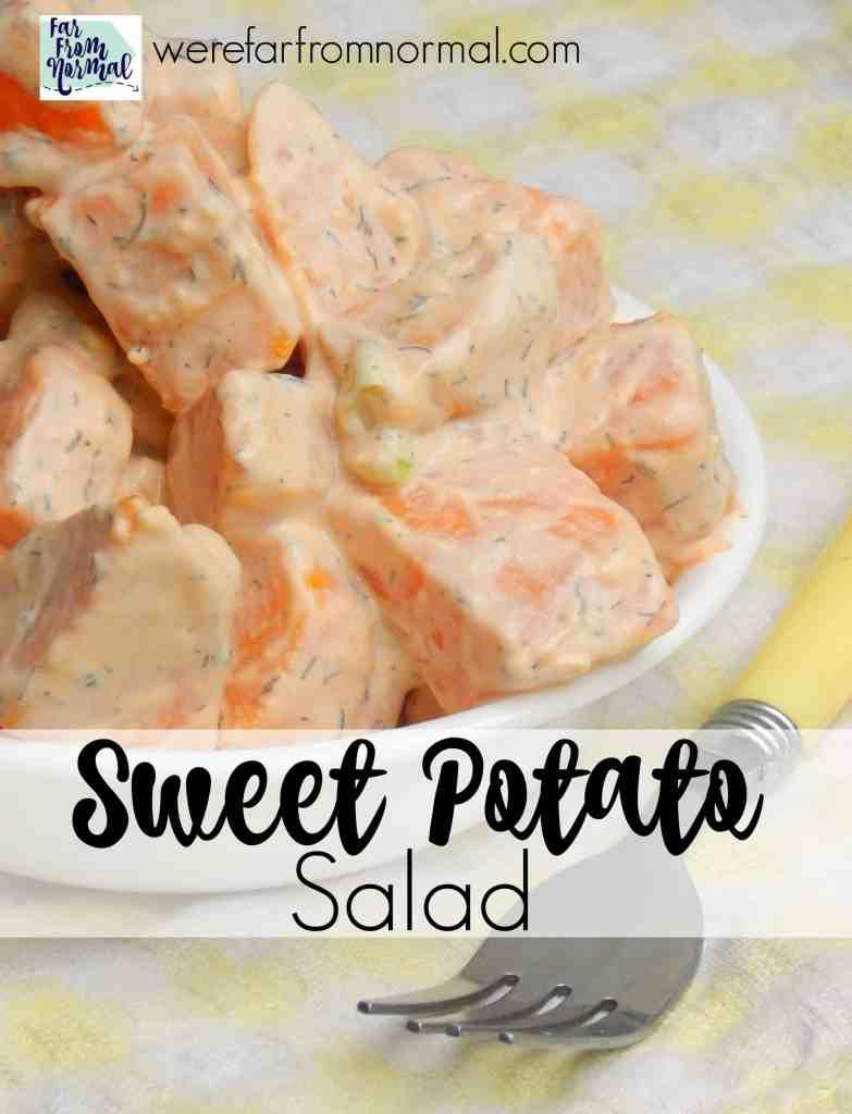 Delicious Sweet Potato Salad
