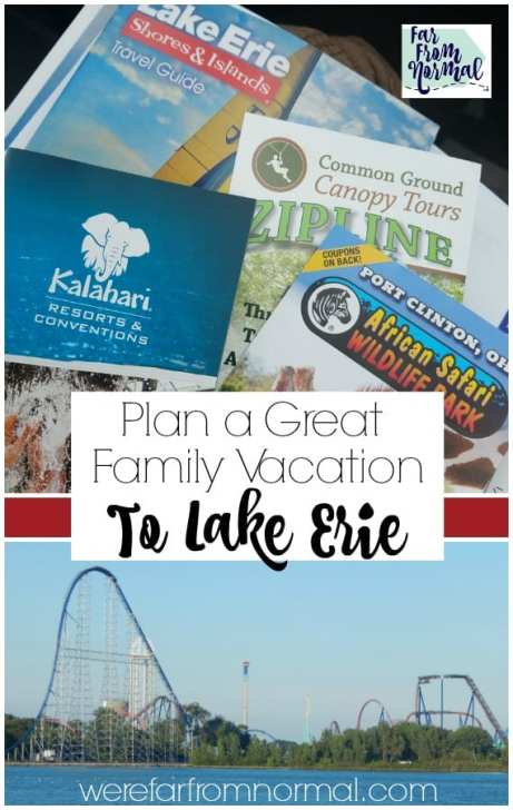 family vacation to Lake Erie