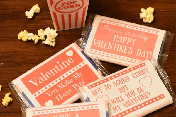 printable popcorn valentinese