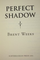 Perfect Shadow - title page