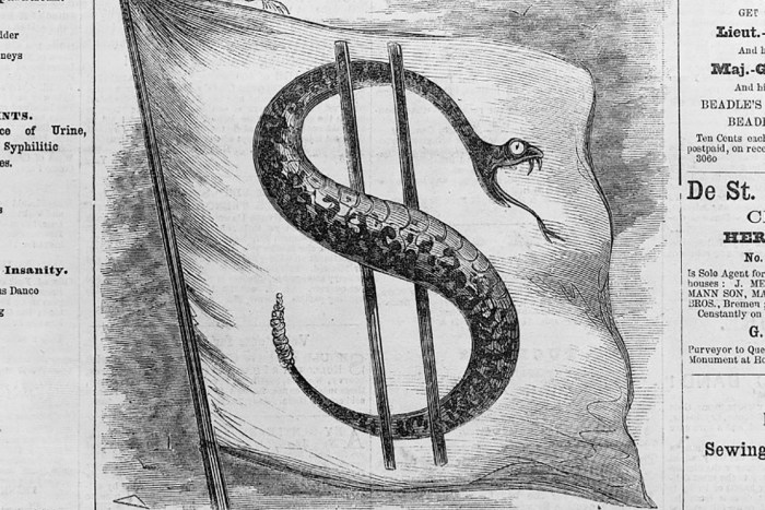 The Curious Origins Of The Dollar Sign Were History