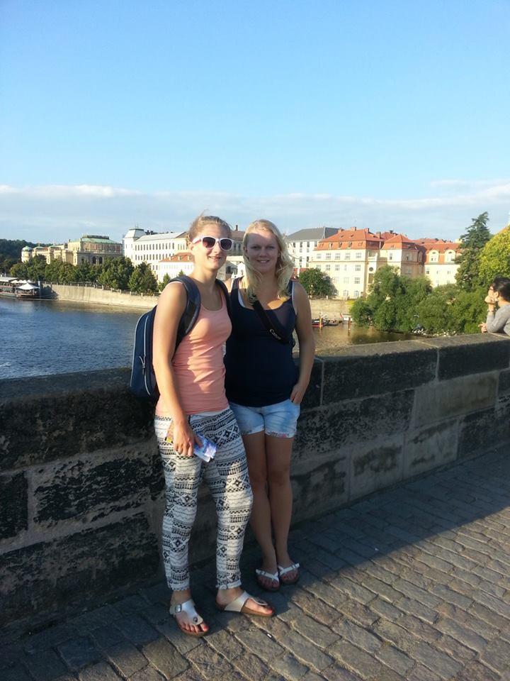 Op de Karelsbrug