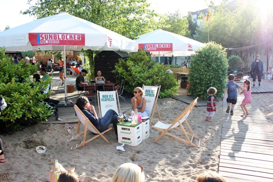 strand in Hamburg: central park