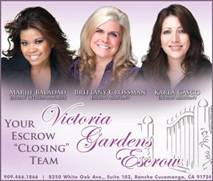 Victoria Gardens Escrow