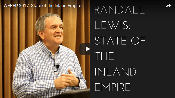2017 Randall Lewis: State of the Inland Empire video