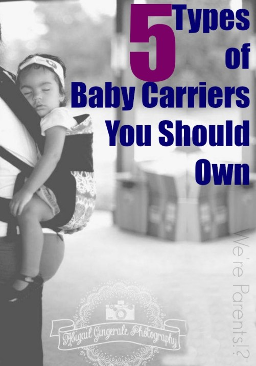 types of baby carriers
