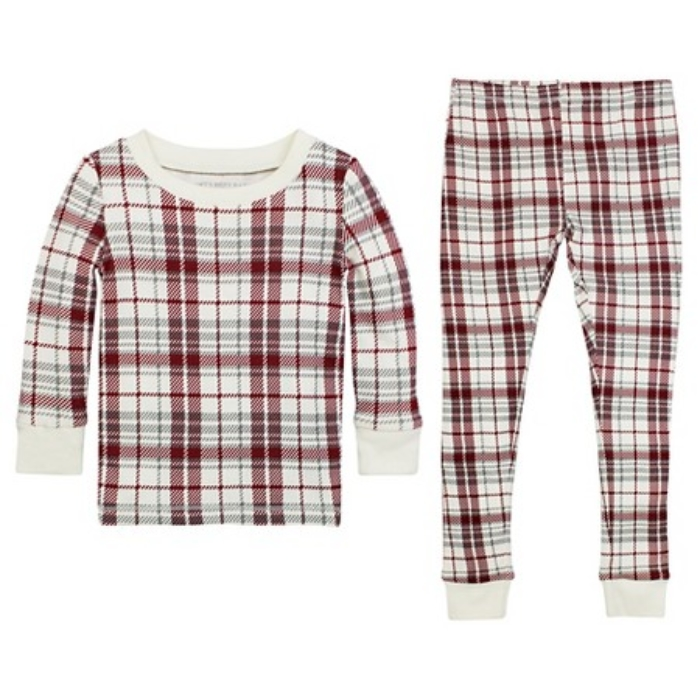 burts-bee-organic-cotton-plaid-family-pajamas