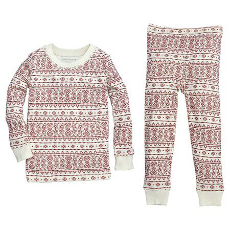 burts-bees-organic-cotton-fair-isle-family-pajamas