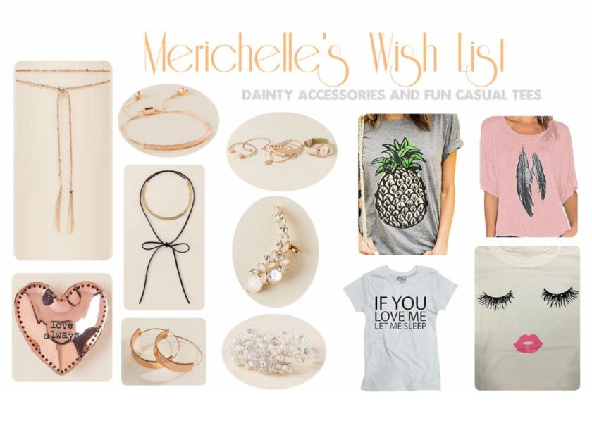 Christmas Wish List Casual Fashion Casual Tees Fun Tees Humor Tees Mom Tees Rose Gold Rose Gold Accessories Rose Gold Jewelry Crawler Earrings Pearl Flower Bracelet Rose Gold Bracelet Rose Gold Necklace Rose Gold Choker Bow Choker